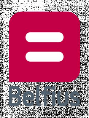 Belfius logo short